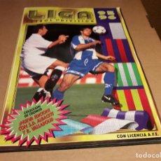 Coleccionismo deportivo: ESTE 95-96 ÁLBUM MUY COMPLETO CON CROMOS MUY BUENOS (VER FOTOS). Lote 83833584