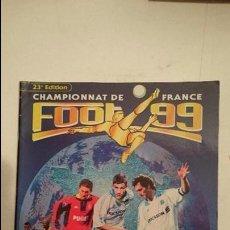 Coleccionismo deportivo: ALBUM CHAMPIONNAT DE FRANCE FOOT 99 (VACIO). Lote 83881864