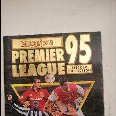 Coleccionismo deportivo: ALBUM PREMIER LEAGUE 95 MERLIN'S (VACIO). Lote 83882084