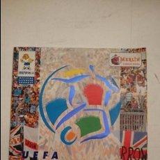 Coleccionismo deportivo: ALBUM UEFA EURO 96 MERLIN (VACIO). Lote 83882244
