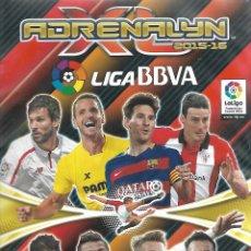 Coleccionismo deportivo: ALBUM ADRENALYN2015/16 CON 433 FICHAS. Lote 84107148
