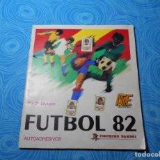 Coleccionismo deportivo: ALBUM FUTBOL 1ª Y 2ª DIVISION AÑO FIGURINE PANINI INCOMPLETO REF (1). Lote 84174088