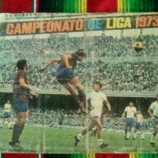 Coleccionismo deportivo: ALBUM DE CROMOS CAMPEONATO DE LIGA 1973 74 FHER DISGRA. Lote 84244792