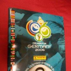 Coleccionismo deportivo: ALBUM DE CROMOS INCOMPLETO. FIFA WORLD CUP. GERMANY 2006. FALTAN 38 CROMOS.. Lote 124787374