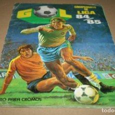 Coleccionismo deportivo: ÁLBUM CAMPEONATO DE LIGA 84-85 EDICIONES MAGA A FALTA DE 76 CROMOS. Lote 84951488