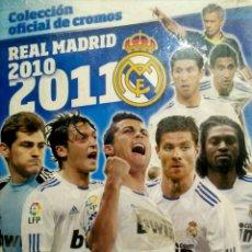 Coleccionismo deportivo: ALBUM COLECCION OFICIAL DE CROMOS REAL MADRID - 2010 2011 10 11 - PANINI - NUEVO PRECINTADO. Lote 84991940
