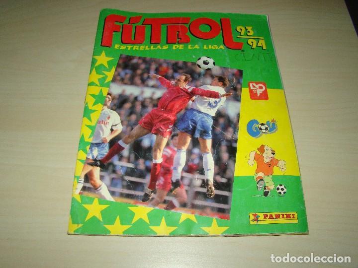 ÁLBUM LIGA 93 94 PANINI (Coleccionismo Deportivo - Álbumes y Cromos de Deportes - Álbumes de Fútbol Incompletos)