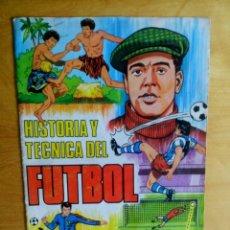 Coleccionismo deportivo: TAPAS ALBUM RUIZ ROMERO 1977 - 77 - HISTORIA Y TECNICA DEL FUTBOL. Lote 85201932