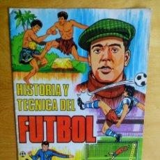 Coleccionismo deportivo: TAPAS ALBUM RUIZ ROMERO - 1977 - 77 - HISTORIA Y TECNICA DEL FUTBOL. Lote 85202020