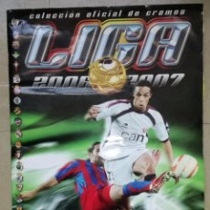 Coleccionismo deportivo: ALBUM DE FUTBOL 2006-07; ESTE - CONTIENE 365 CROMOS, DE LOS CUALES 30 SON ULTIMOS FICHAJES. Lote 85267636