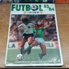 Coleccionismo deportivo: ALBUM DE FUTBOL LIGA 83-84 EDICIONES CANO. Lote 85540476