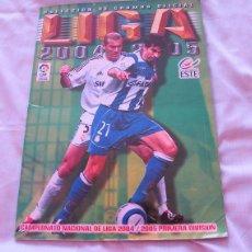 Coleccionismo deportivo: ALBUM LIGA DE FUTBOL 2004 2005 ESTE. Lote 85843616
