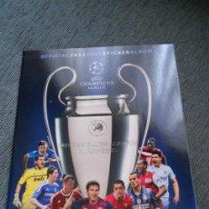 Coleccionismo deportivo: ALBUM VACIO PLANCHA SIN CROMOS UEFA CHAMPIONS LEAGUE FUTBOL 2011 2012 11 12 PANINI. Lote 146372468