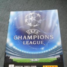 Coleccionismo deportivo: ALBUM VACIO PLANCHA SIN CROMOS UEFA CHAMPIONS LEAGUE FUTBOL 2007 2008 07 08 PANINI. Lote 85897540