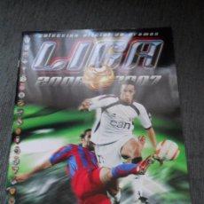 Coleccionismo deportivo: ALBUM VACIO PLANCHA SIN CROMOS EDICIONES ESTE LIGA FUTBOL 2006 2007 06 07. Lote 112394175