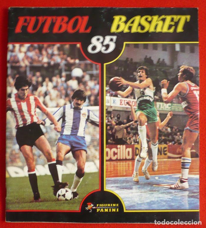 ALBUM VACIO FUTBOL BASKET 85 PANINI (Coleccionismo Deportivo - Álbumes y Cromos de Deportes - Álbumes de Fútbol Incompletos)