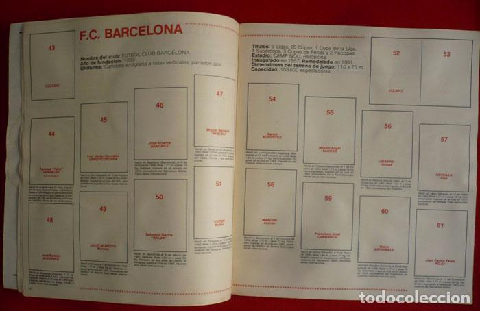 Coleccionismo deportivo: ALBUM VACIO FUTBOL BASKET 85 PANINI - Foto 5 - 86069584