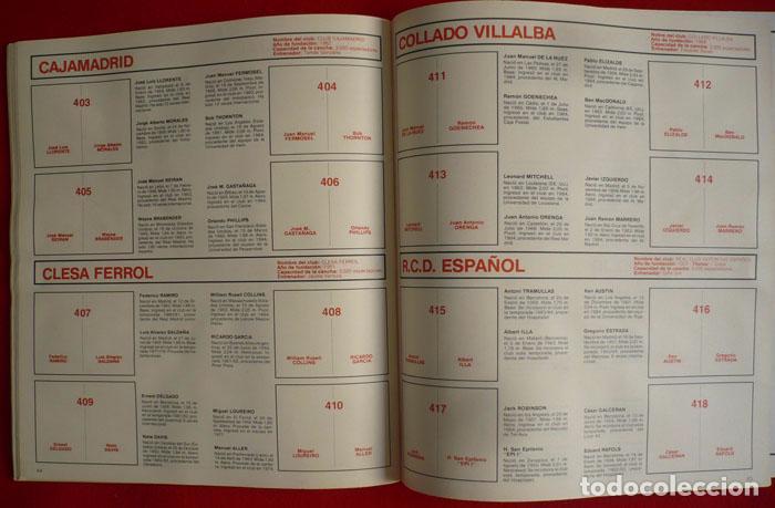 Coleccionismo deportivo: ALBUM VACIO FUTBOL BASKET 85 PANINI - Foto 13 - 86069584