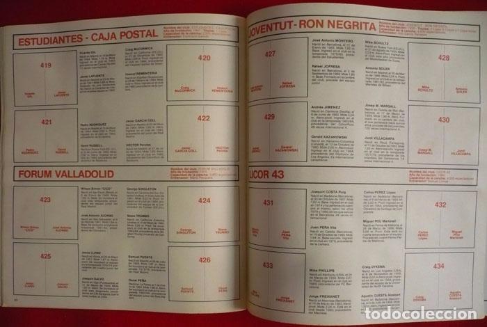 Coleccionismo deportivo: ALBUM VACIO FUTBOL BASKET 85 PANINI - Foto 14 - 86069584