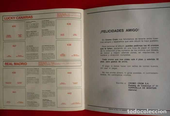 Coleccionismo deportivo: ALBUM VACIO FUTBOL BASKET 85 PANINI - Foto 15 - 86069584