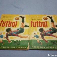 Coleccionismo deportivo: LOTE DE DOS ALBUMES DE RUIZ ROMERO CAMPEONATOS NACIONALES DE 1965,UNO CASI COMPLETO. Lote 86241380