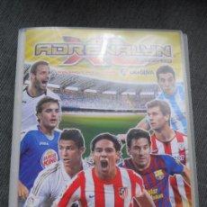 Coleccionismo deportivo: ALBUM FICHERO ARCHIVADOR PLASTICO VACIO SIN CROMOS ADRENALYN XL PANINI LIGA FUTBOL 2011 2012 11 12. Lote 86414672