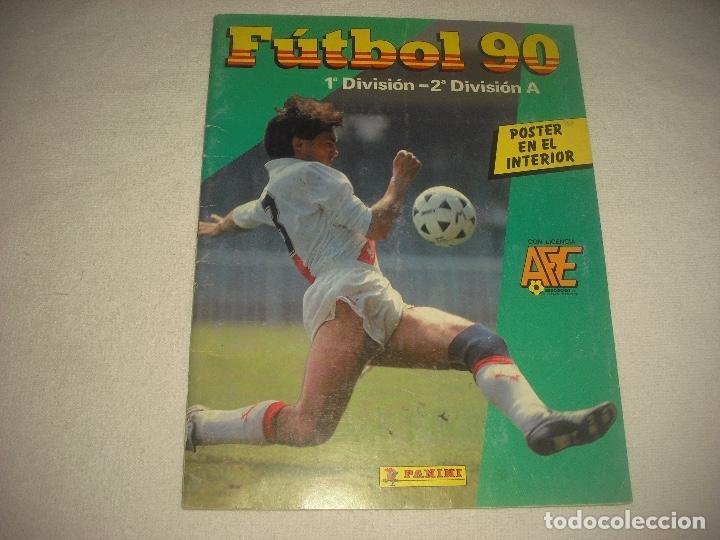 FUTBOL 90 .PANINI . CONTIENE 248 CROMOS (Coleccionismo Deportivo - Álbumes y Cromos de Deportes - Álbumes de Fútbol Incompletos)