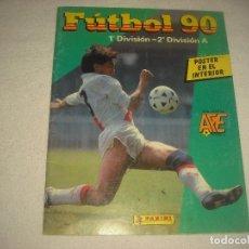 Coleccionismo deportivo: FUTBOL 90 .PANINI . CONTIENE 248 CROMOS. Lote 86800532