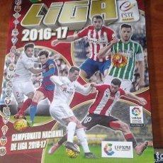Coleccionismo deportivo: ALBUM DE CROMOS DE FUTBOL EDICIONES ESTE 2016 2017. Lote 87021084