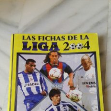 Coleccionismo deportivo: FICHERO LIGA 2004. Lote 87264135