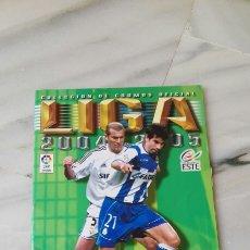 Coleccionismo deportivo: ALBUM DE FUTBOL LIGA 2004-2005. Lote 87265046