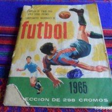 Coleccionismo deportivo: CAMPEONATOS NACIONALES DE FÚTBOL 1965 INCOMPLETO. RUIZ ROMERO. OLIMPIADA DE TOKIO 1964 HOCKEY. RARO.. Lote 87729716