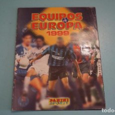 Collectionnisme sportif: ÁLBUM VACIO DE FÚTBOL EQUIPOS DE EUROPA 1999 AÑO 1999 DE PANINI. Lote 87777412