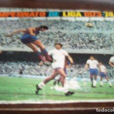 Coleccionismo deportivo: 9338- ALBUM CROMOS LIGA 1973-74/73-74 DISGRA -INCOMPLETO. Lote 87891908