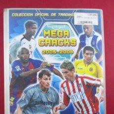 Coleccionismo deportivo: MEGA CRACKS - ALBUM DE CROMOS FÚTBOL , LIGA 05 - 06 , 2005 2006 , PANINI , INCOMPLETO TRADING CARDS. Lote 88393468