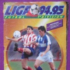 Coleccionismo deportivo: ALBUM CROMOS FUTBOL 94-95, LIGA ESTE, TIENE 350 CROMOS Y 32 FICHAJES, FICHAJE Nº35 AMAVISCA. Lote 88586156