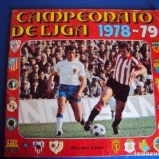 Coleccionismo deportivo: ALBUM CROMOS CAMPEONATO DE LIGA 1978-1979, 78-79 - EDITORIAL FHER. Lote 89058280