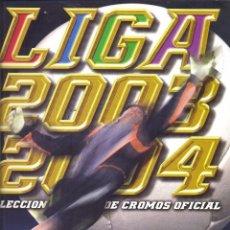 Coleccionismo deportivo: ALBUM LIGA 2003-2004 ESTE NUEVO VACIO, REVERSO NUTELLA, VER FOTOS. Lote 89324648