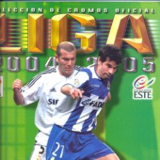 Coleccionismo deportivo: ALBUM LIGA 2004-2005 ESTE NUEVO VACIO, VER FOTOS. Lote 89324680