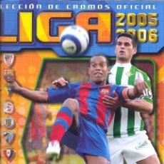 Colecionismo desportivo: ALBUM LIGA 2005-2006 ESTE NUEVO VACIO, VER FOTOS. Lote 89324704