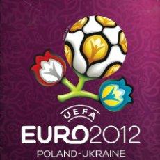 Coleccionismo deportivo: ALBUM UEFA EURO 2012 PANINI CON 152 CROMOS. Lote 89341636