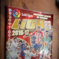 Coleccionismo deportivo: ALBUM LIGA 2016-17 CON 91 CROMOS, ESTE, PANINI, VER DESCRIPCION. Lote 89260892