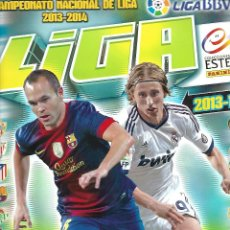 Coleccionismo deportivo: OCASION ALBUM CAMPEONATO NACIONAL DE LIGA 2013/2014 CON 357 CROMOS. Lote 90462299