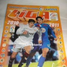 Coleccionismo deportivo: LIGA BBVA.TEMPORADA 2010. 2011.COLECCIONES ESTE.ALBUM CROMOS.INCOMPLETO.FOTOS TODAS LAS PAGINAS. Lote 90591125