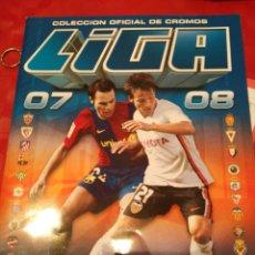 Coleccionismo deportivo: ÁLBUM PLANCHA VACÍO FÚTBOL LIGA ESTE 2007 2008. Lote 90797275