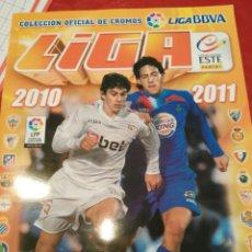 Coleccionismo deportivo: ÁLBUM DE FÚTBOL LIGA ESTE 2010 2011 PLANCHA Y VACÍO.. Lote 90797954