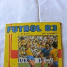 Coleccionismo deportivo: ALBUM CROMOS FUTBOL . FUTBOL 83. FIGURINI PANINI. Lote 91636760