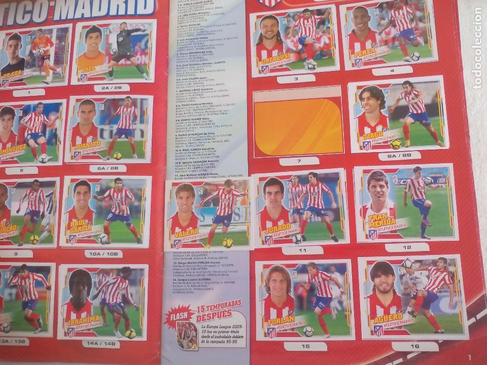 Coleccionismo deportivo: Album de Cromos Liga 2010 2011, Liga de Futbol, colecciones Este, Panini. Unos 300 cromos - Foto 4 - 92008840