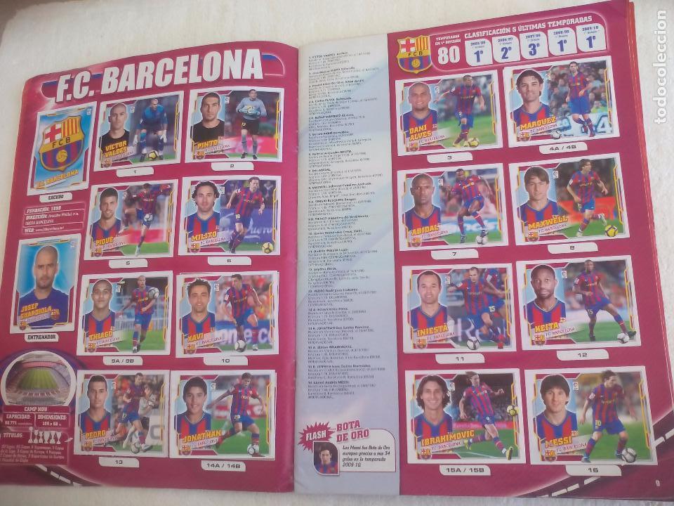 Coleccionismo deportivo: Album de Cromos Liga 2010 2011, Liga de Futbol, colecciones Este, Panini. Unos 300 cromos - Foto 5 - 92008840