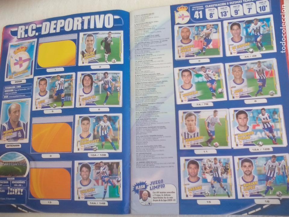Coleccionismo deportivo: Album de Cromos Liga 2010 2011, Liga de Futbol, colecciones Este, Panini. Unos 300 cromos - Foto 6 - 92008840